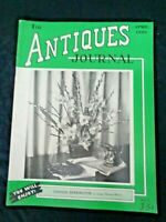 Antiques Journal 1950 Howard Clocks Bennington Pottery Toby Jug Lincoln's Death