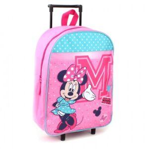 Kindertrolley Trolley Koffer Rucksack Kindergarten Kinder Tasche Minnie Maus