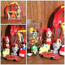 Mix Lot Old & New Mcdonalds Happy Meal Toys Disney Luigi Mickey Mouse Racers Etc