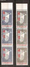 Suriname - 1966 - NVPH 460-61 (Strip van 3) - Gestempeld - LB526
