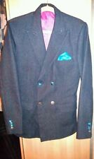 Denim Hip Length Blazers Unbranded Coats & Jackets for Men