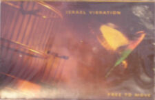 Israel Vibration - Free To Move Cassette - SEALED - New Copy - Roots Reggae