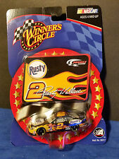 #2 RUSTY WALLACE  RUSTY PENSKE FORD STICKER SERIES 2002 WINNERS CIRCLE 1/64
