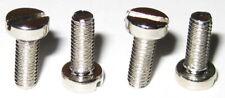 4 X Slotted Pan Head Metric Hobby Motor Mounitng Screws - M3-8 - Zinc Steel