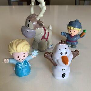 Fisher-Price Little People Disney Frozen Kristoff Princess Elsa Olaf Snowman