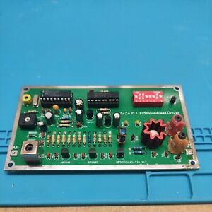 FM PLL 1 Watt exciter broadcast transmitter 87.5-108MHz