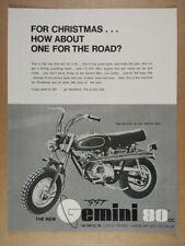 1971 Gemini SST 80 Minibike vintage print Ad