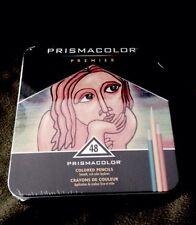 Sanford Prismacolor Premier Colored Pencil Set, 48/Tin, Still In Plastic