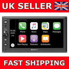 "Sony XAV-AX100 Apple CarPlay & Android Auto 6.4"" Auto Stereo iPod USB BLUETOOTH"