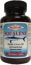 Best Nutrition - Squalene 500mg (100 Softgels)