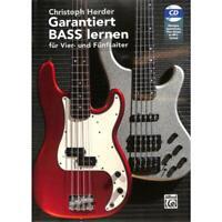 Garantiert Bass lernen - für Vier- und Fünfsaiter - mit CD