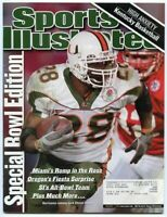 SI: Sports Illustrated January 7, 2002 Special Bowl Edition: Clinton Portis GOOD