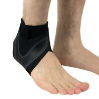 Men Ankle Brace Foot Sprain Support Bandage Achilles Strap Guard Protector S-XL