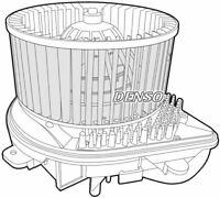 Denso Cabine Ventilateur / Moteur Pour Citroen Jumpy Plateforme/Châssis 2.0 80KW