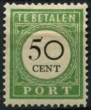 Curacao 1892-1898 SG#D61A 50c Black & Green Postage Due Type I MH #E13757
