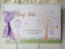 PERSONALISED CHRISTENING/ NAMING DAY / BAPTISM/GUEST BOOK /PHOTO ALBUM/SCRAPBOOK