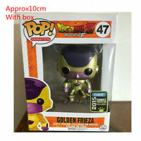 Funko POP Dragon Ball GOLDEN FRIEZA GOKU VEGITO SUPER SAIYAN Figure Model Toys