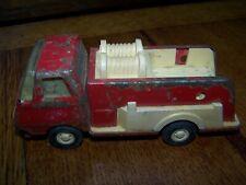 Vintage Tonka Fire Truck Minicar Tinplate American Vintage Rare loader tractor