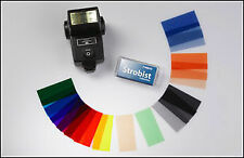 FILTRI PER FLASH KIT COMPLETO DI 20 COLORI STROBIST KIT ROSCO