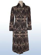 abito vestito dress donna sartoriale vintage ginocchio lana taglia m medium