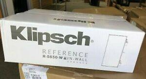 1 Pair Klipsch R-5650-W II In-wall speakers R5650WII
