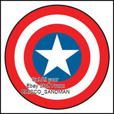 "Fridge Fun Refrigerator Magnet CAPTAIN AMERICA ""SHIELD-A"" DIE-CUT Avengers Comic"