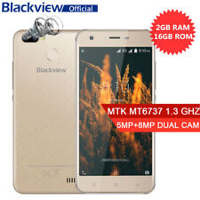 """Blackview A7 PRO 5"""" 2GB+16GB Android 7.0 4G Quad-core FHD Smartphone Handy 13MP"""