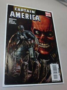 Captain America #45 Variant (2009) RED SKULL Marvel Very High Grade Red Skull