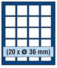 SAFE 6836 NOVA Element exquisite Holz-Münzbox für 20 Münzen mit 36 mm Durchmesse