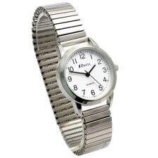 Ravel Ladies Super-Clear Quartz Watch with Expanding Bracelet sil #44 R0232.21.2