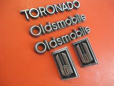 Toronado Emblem Set 1979-84 Oldsmobile OEM Plastic & Metal Emblems