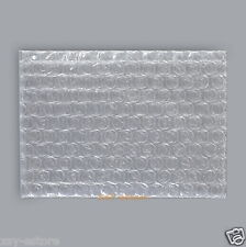 "20 Bubble Envelopes Wrap Bags 3"" x 3.5""_80 x 90mm Flat Open Top"