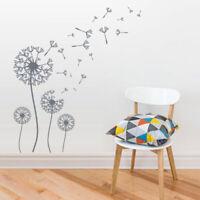 Wall Decal Vinyl Sticker Art Decor Bedroom Flowers Bedroom Dandelion (Z2733)