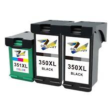 3x DRUCKER PATRONE für HP XL 350+351 C4580 C5280 D5360 C4280 DeskJet D5360 C4380