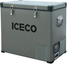 New listing 63Qt Portable Car Fridge Freezer Camping Outdoor Refrigerator With Compressor