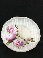 Six Piece Boxed Set Snack Plates Peonies