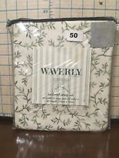 "Waverly 81200276 Tailored Swag Set 56"" with (2 Swag each 28""wide) X 20"" length"