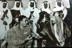 SAUDI ARABIA Sticker الملك عبد العزيز والرئيس محمد نجيب