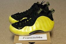 Nike Air Foamposite One Electrolime Size 10.5 DS Brand New Cheap Shoe Basketball
