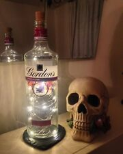 RETRO Gordon's Pink Gin 70cl Bottle Lamp Light with Warm White LED FREE P&P