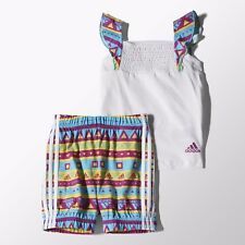 Adidas 6-9 months Outfit 2 Piece Set Summer Baby Girls