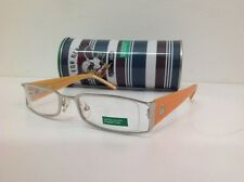 United colors Benetton occhiale da vista junior frontale12,5cm metallo arancione