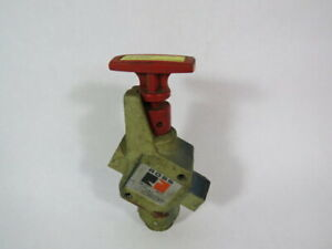 """Ross 1523-C-5012 LOX Lockout Exhaust Valve 3/4""""In/Out 300PSIG 20.7BAR ! WOW !"""