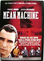 Dvd Mean Machine con Vinnie Jones 2001 Usato raro fuori cat.