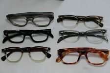 Vintage NEW OLD STOCK 60s Horn Rim Eyeglasses Frame France lot (6)