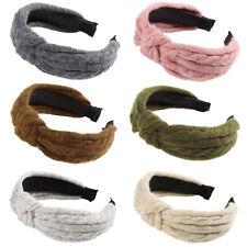 Fashion Women's Tie Headband Hairband Woolen Hair Hoop Band Accessories Headwear