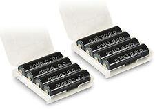 8 x Panasonic Eneloop pro AA lr6 r06 batería + 2 X de retención akkubox Box