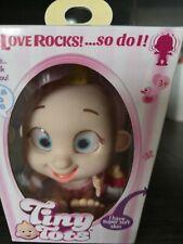 Tiny Tots Baby Dolls Love Rocks So Do I Pink Nappy/ dolly