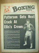 BOXING NEWS JULY 5 1968 FLOYD PATTERSON TO FIGHT JIMMY ELLIS