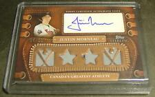 2010 TOPPS STERLING JUSTIN MORNEAU AUTO JERSEY 04/10